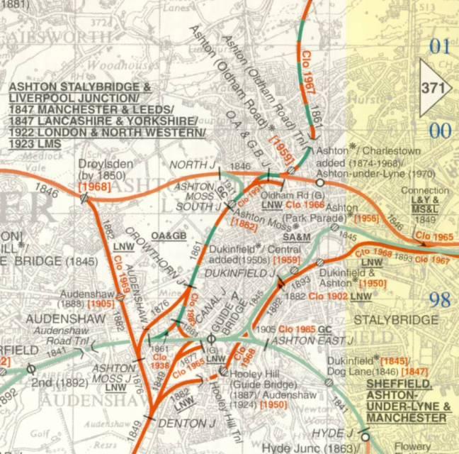 Map Cobb Guide Bridge area