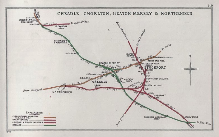 Heaton_Mersey rail map